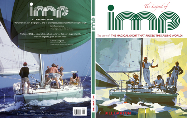 BACK AND FRONT COVER OF The Legend of imp